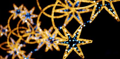 Una navidad iluminada en Barcelona