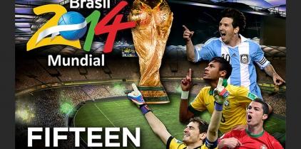 Ven a disfrutar del Mundial de Fútbol a Fifteen