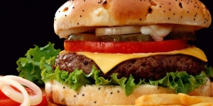 Degustación de minihamburguesas